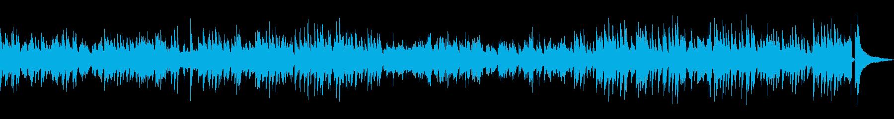 「二人でお茶を」ゆっくりめピアノソロの再生済みの波形