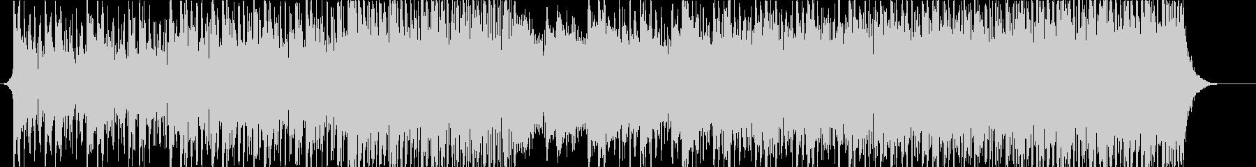感動的なアンビエントハウスミュージックの未再生の波形