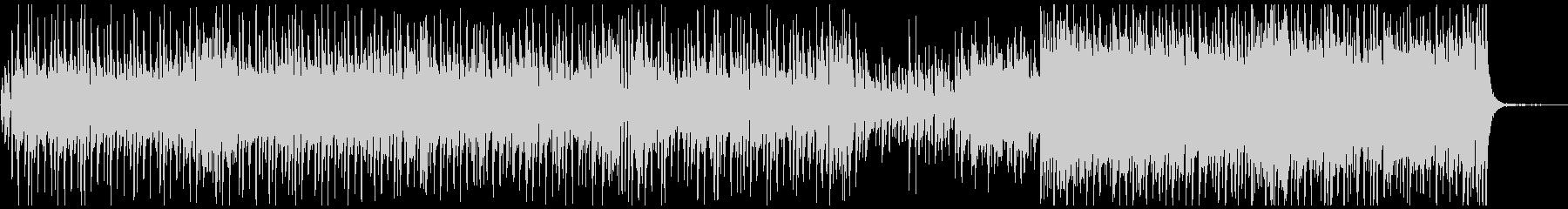 ほのぼのピアノメロ曲の未再生の波形
