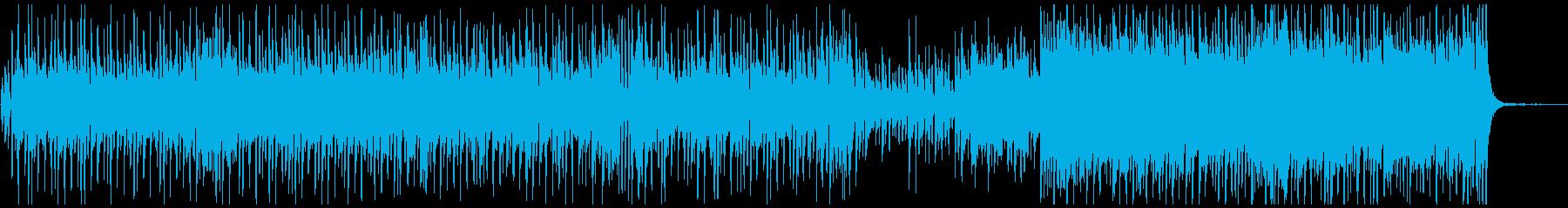 ほのぼのピアノメロ曲の再生済みの波形