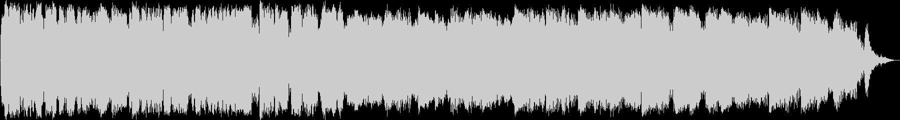 竹笛のアンビエントミュージックの未再生の波形