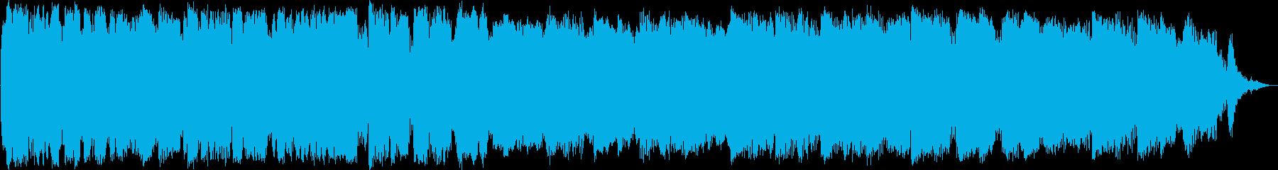 竹笛のアンビエントミュージックの再生済みの波形