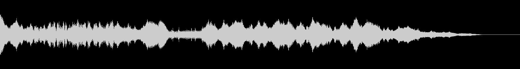 ランブル、アナログシンセの未再生の波形