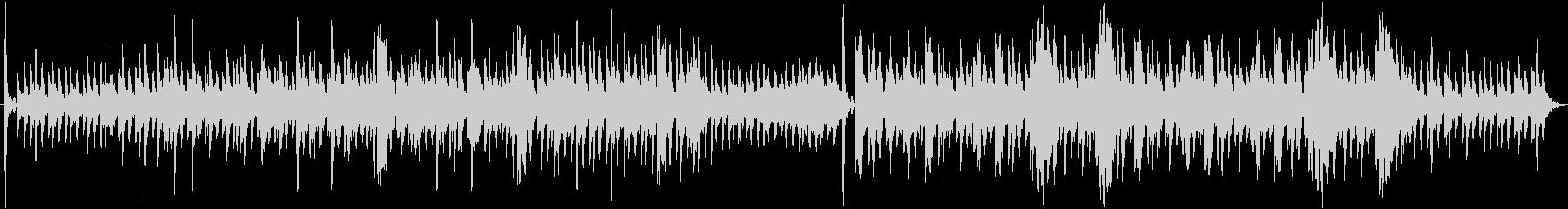 神秘的な響きが魅力なインスト曲の未再生の波形