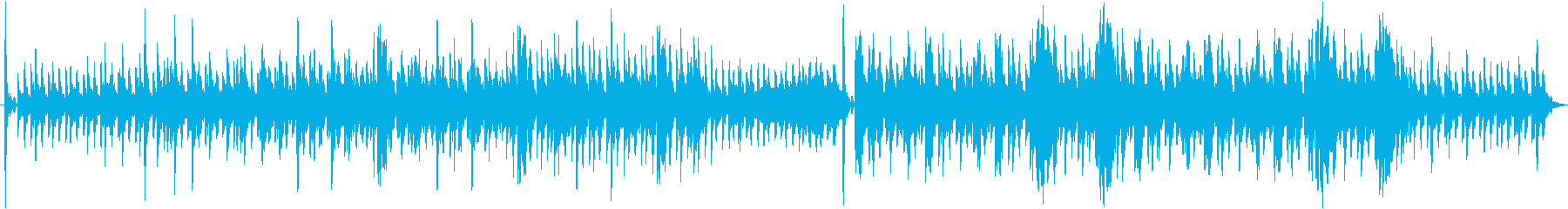 神秘的な響きが魅力なインスト曲の再生済みの波形