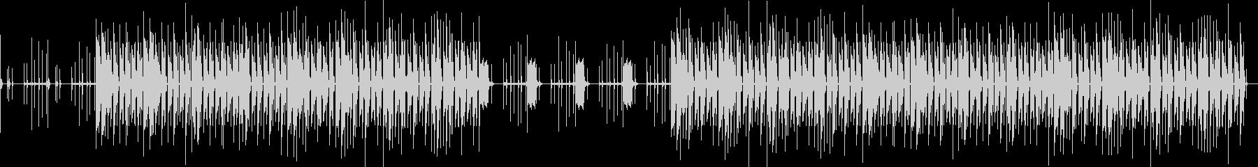 おしゃれ・シンプル・EDM・空気感3の未再生の波形