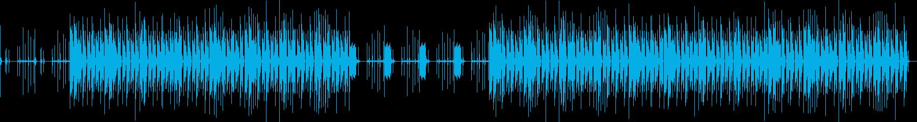 おしゃれ・シンプル・EDM・空気感3の再生済みの波形