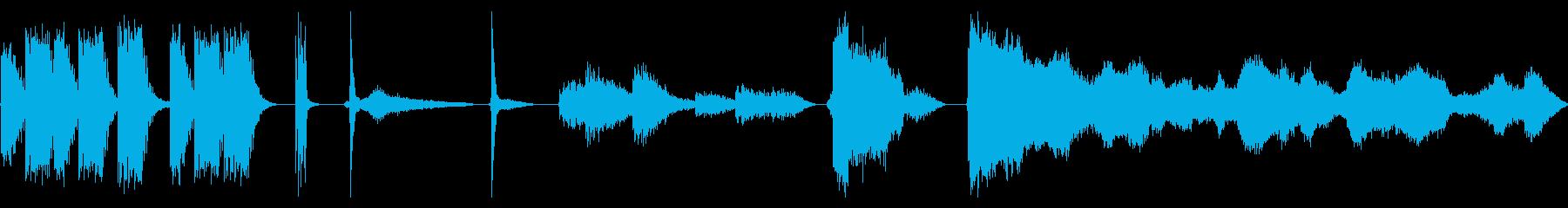 CANNON、HEAVY、SHOO...の再生済みの波形