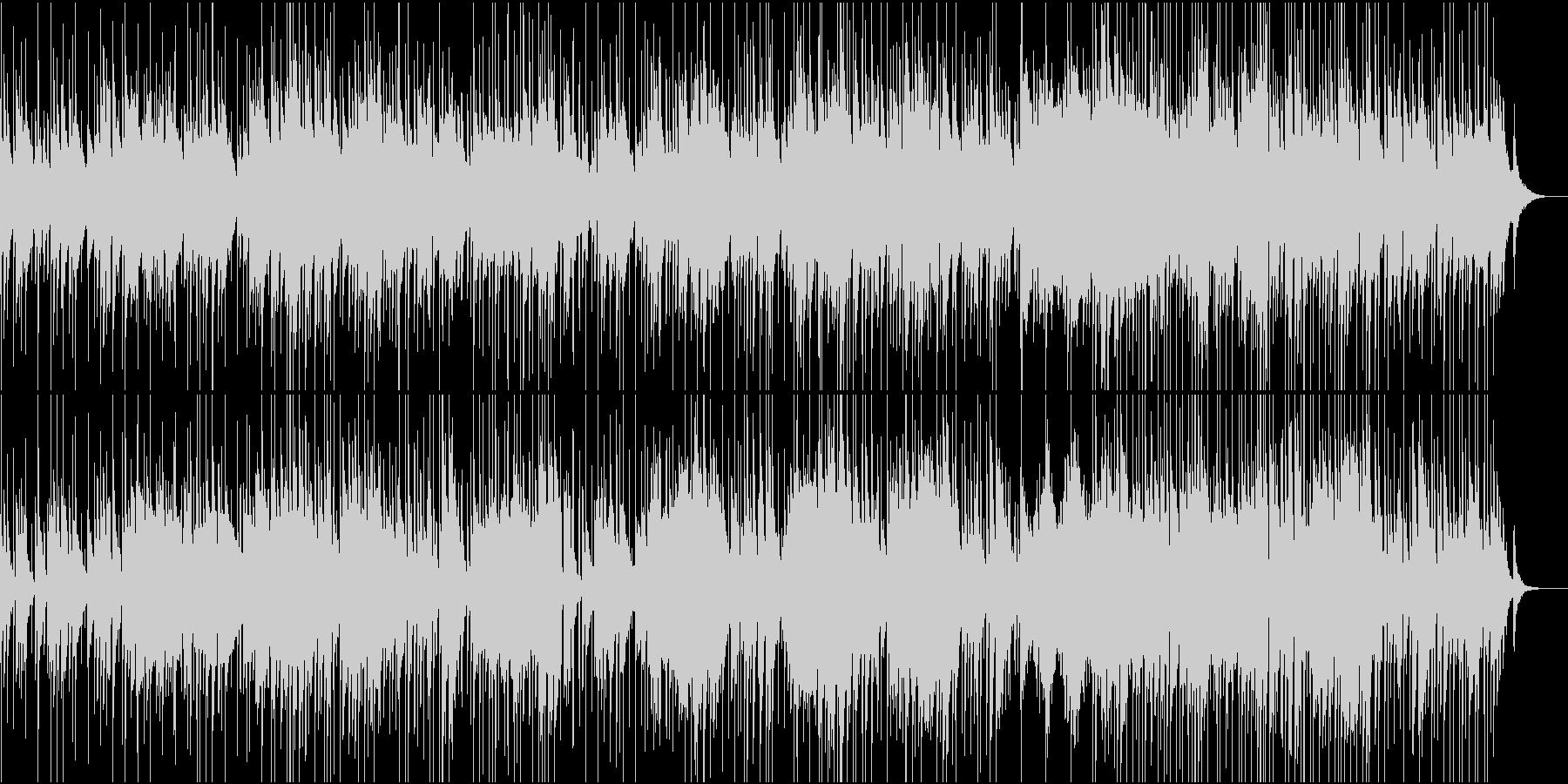 アコギエレピの落ち着きあるBGMの未再生の波形