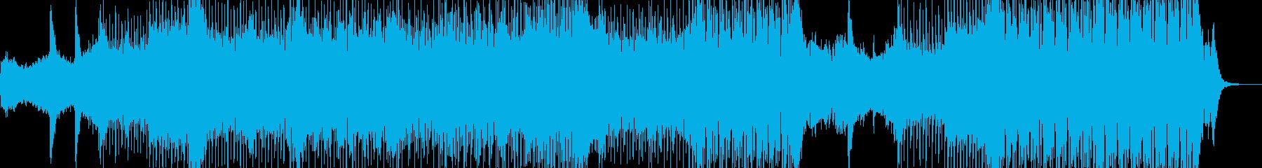 近未来を思い描いたテクノポップ Aの再生済みの波形
