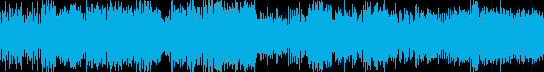 ブラスとストリングス戦闘曲(ショート版)の再生済みの波形