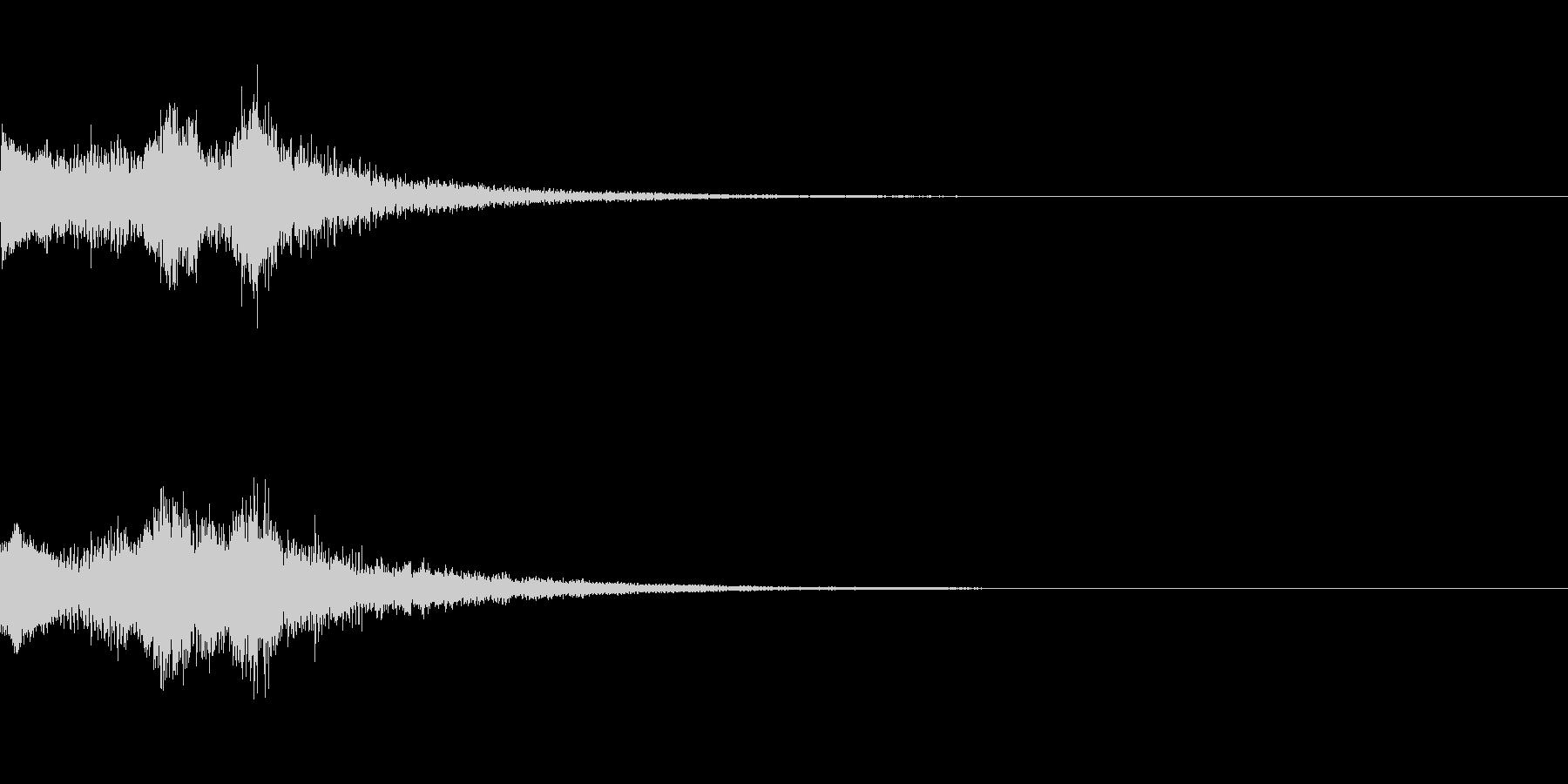 システム起動音_その3の未再生の波形