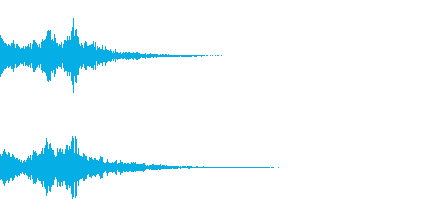 システム起動音_その3の再生済みの波形