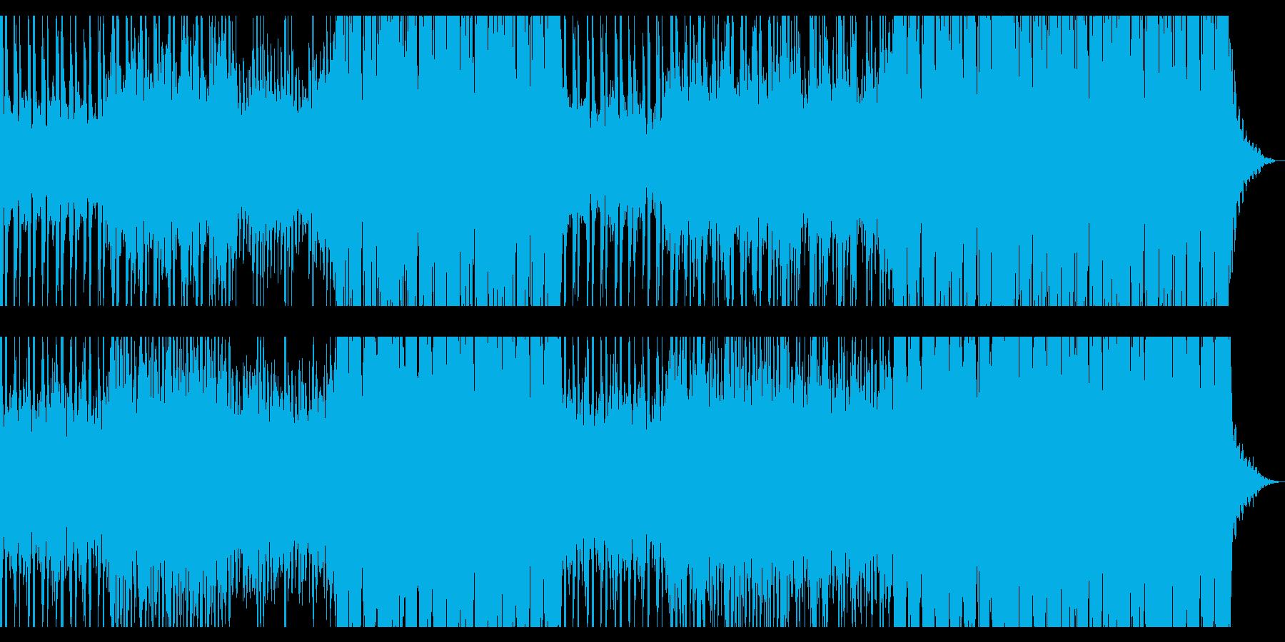 洋楽系トロピカルハウス チルアウトの再生済みの波形