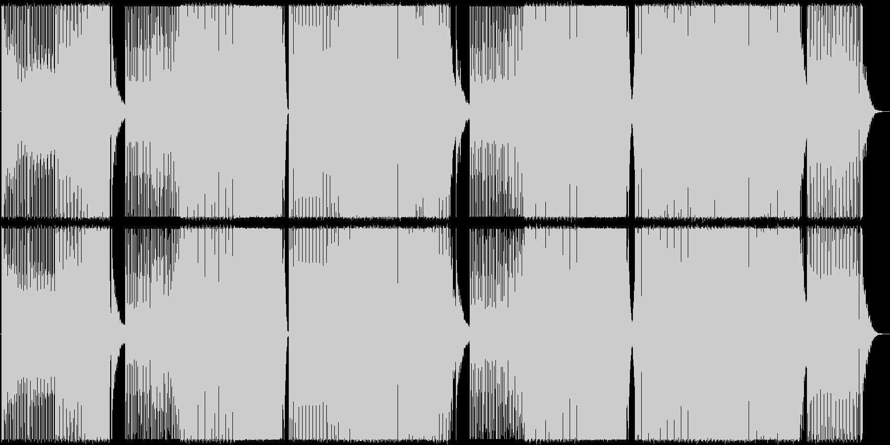 サイバーパンク/ミッドテンポ/EDMの未再生の波形