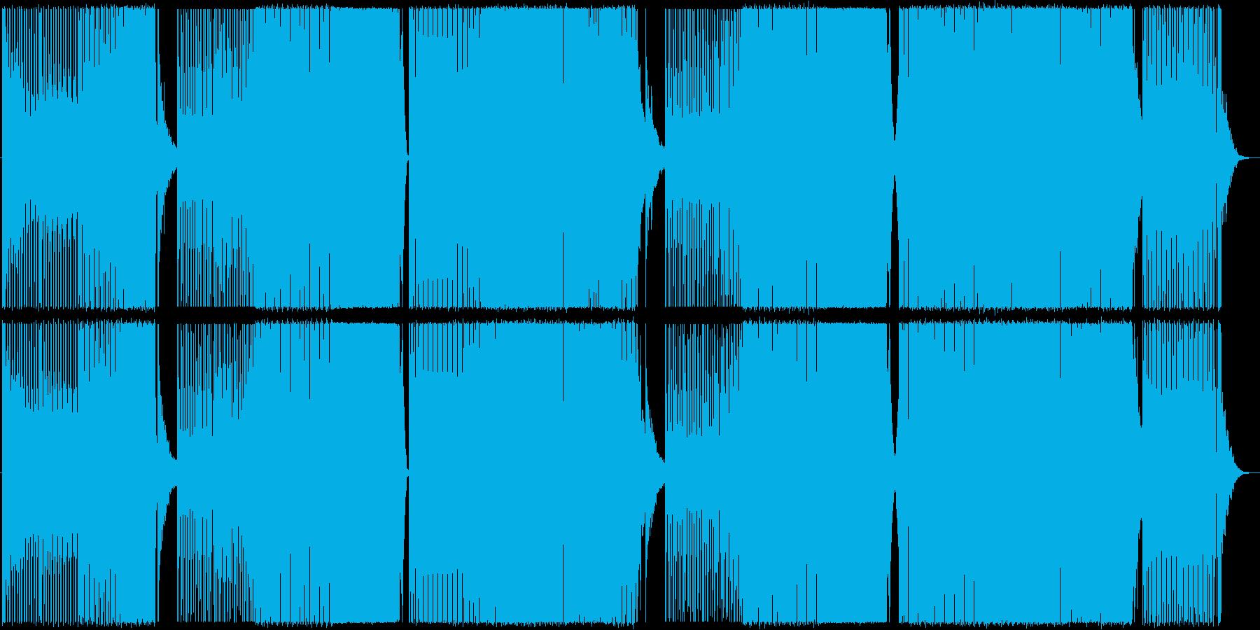 サイバーパンク/ミッドテンポ/EDMの再生済みの波形