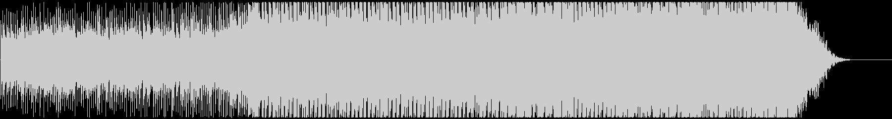 疾走感のあるキラキラしたシンセポップの未再生の波形