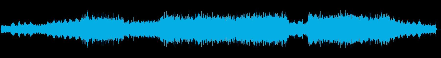 対流圏(サイクロン・エリア)の再生済みの波形
