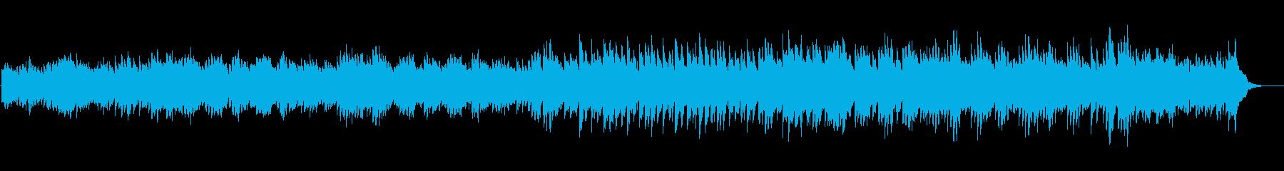 切ない別れの幻想的なピアノオリジナルの再生済みの波形