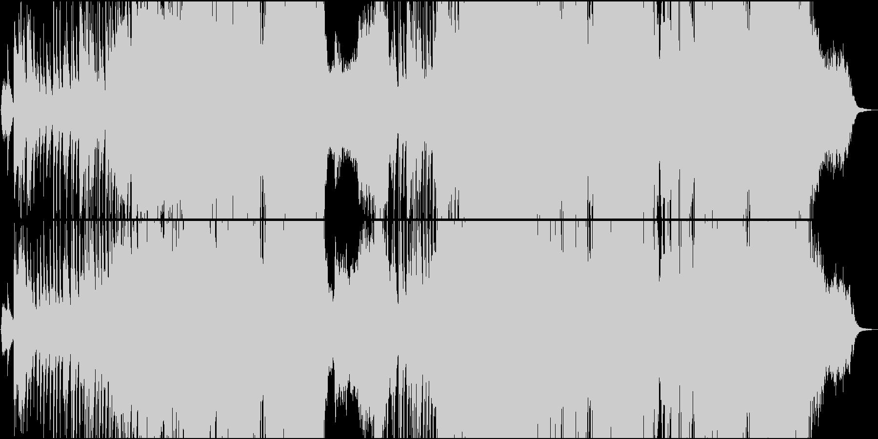 切ない和風Future Bassの未再生の波形