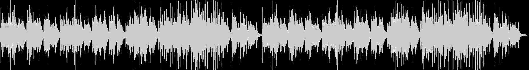 ピアノによる癒し系の曲です。の未再生の波形