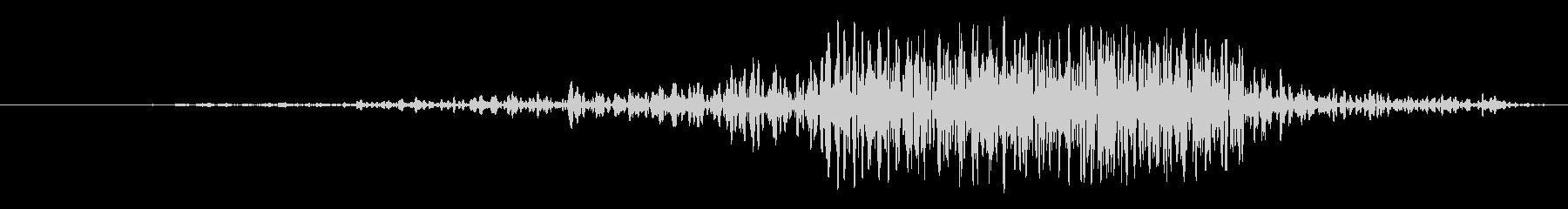ヒューヒュー 21の未再生の波形
