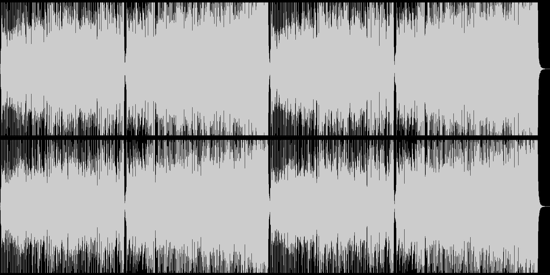 爽やかなケルト曲の未再生の波形