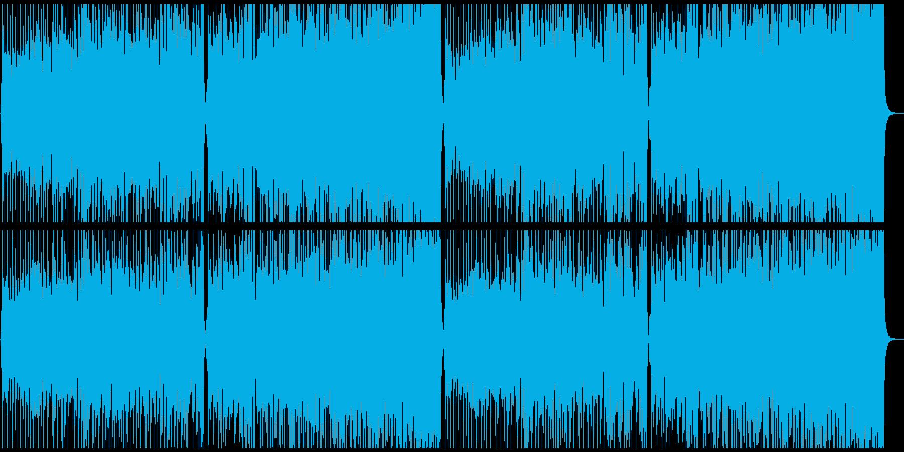 爽やかなケルト曲の再生済みの波形