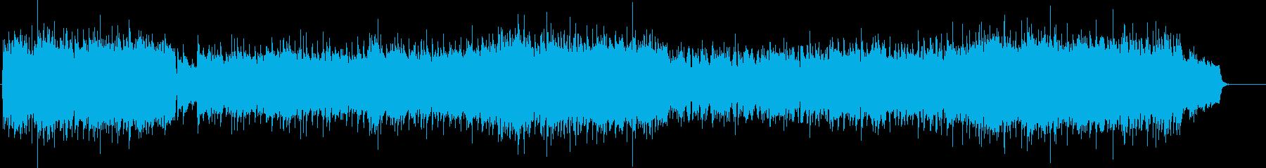 直感的カウンター・バラードの再生済みの波形