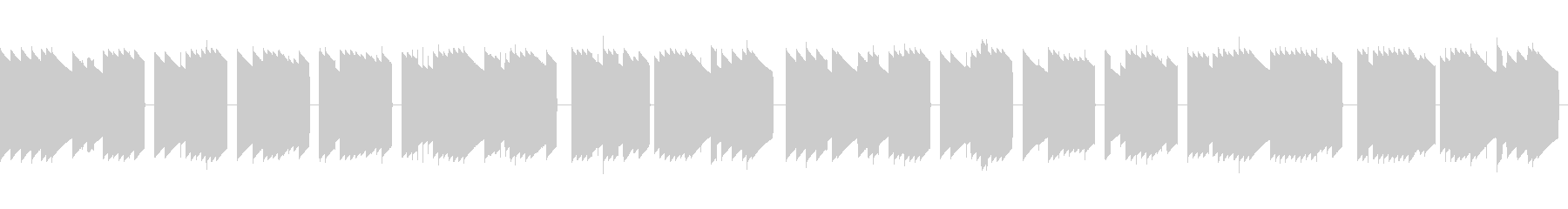 歩行者用信号機の音_とおりゃんせ_01+の未再生の波形
