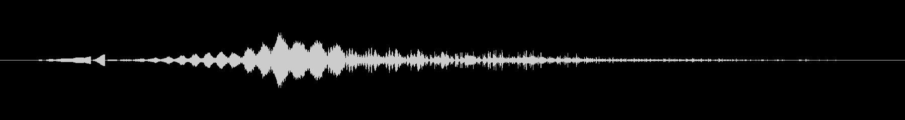 特撮 画面シャットダウングリッチ03の未再生の波形