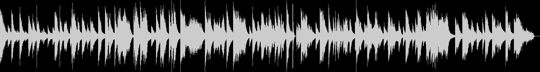 Moody Pianoの未再生の波形