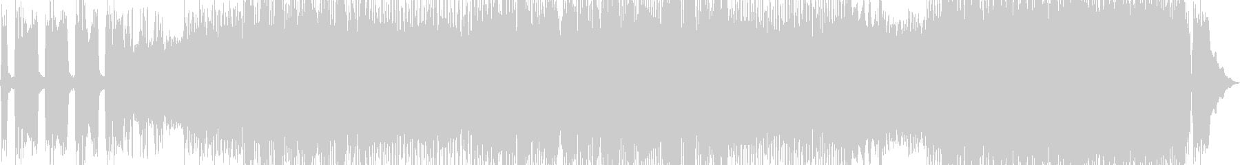 ザクザクブリッジミュートが映えるメタルの未再生の波形