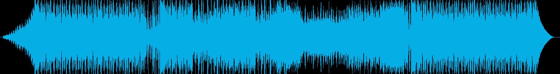 バックグラウンドアクショントラップの再生済みの波形
