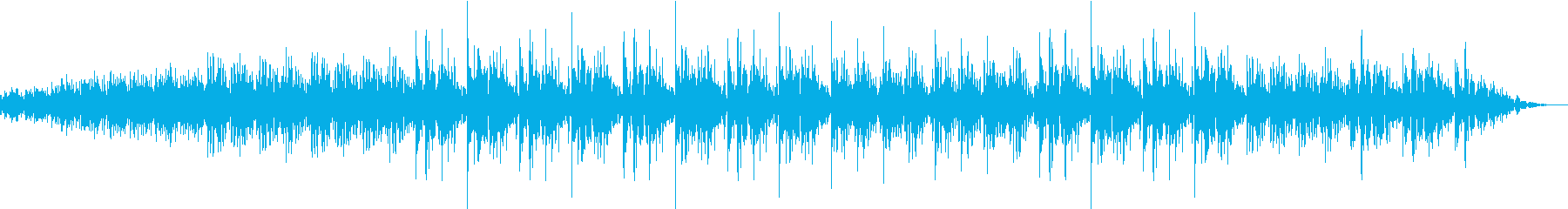 モードな神秘的なSyn曲の再生済みの波形