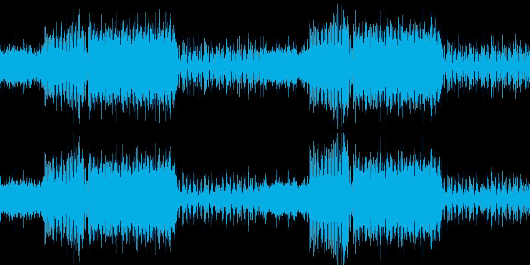 感動的エキサイティングエンディングEDMの再生済みの波形