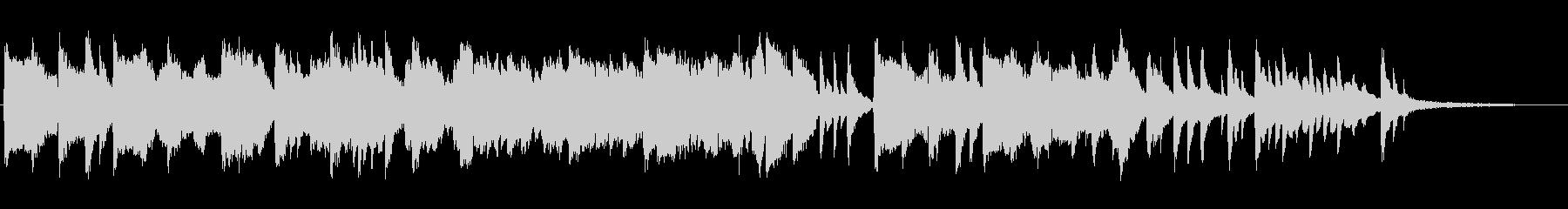 センチメンタルなピアノ+ひちりきの未再生の波形