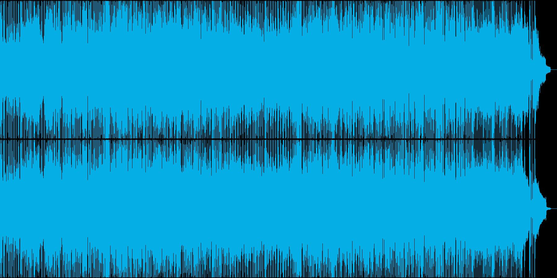 哀愁アップビートロックの再生済みの波形