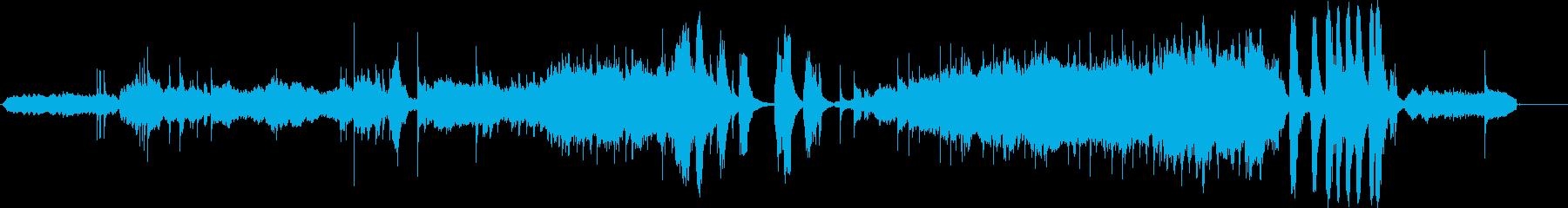 オーケストラトラックは不気味で怖い...の再生済みの波形