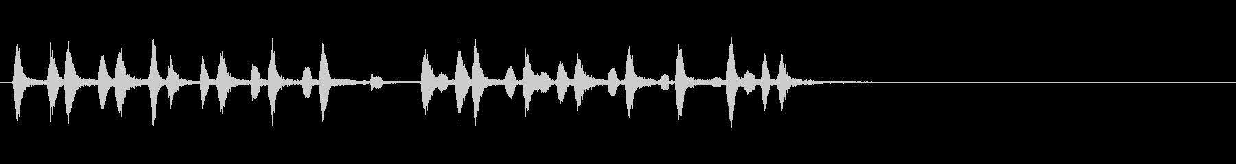 桃太郎よかったね木管リコーダー重奏の未再生の波形