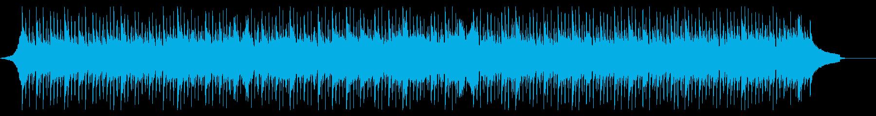 落ち着いた爽やかなコーポレートBGMの再生済みの波形