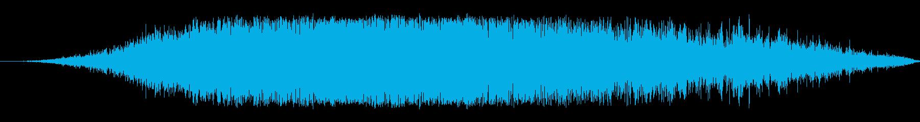 ブー群衆の再生済みの波形