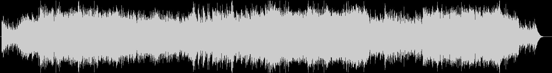 壮大な3拍子ケルト風BGM:オープニングの未再生の波形