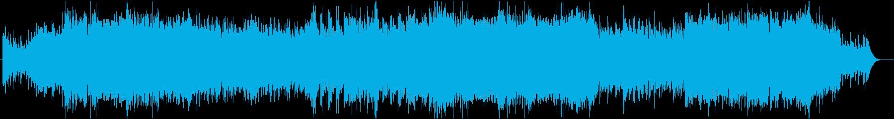 壮大な3拍子ケルト風BGM:オープニングの再生済みの波形