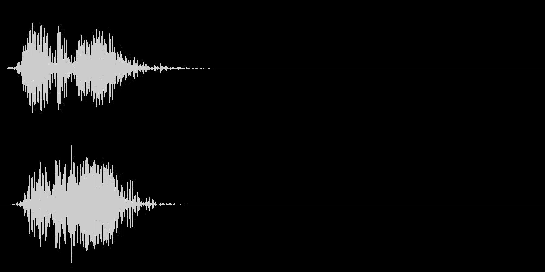 ショートカット遷移1の未再生の波形