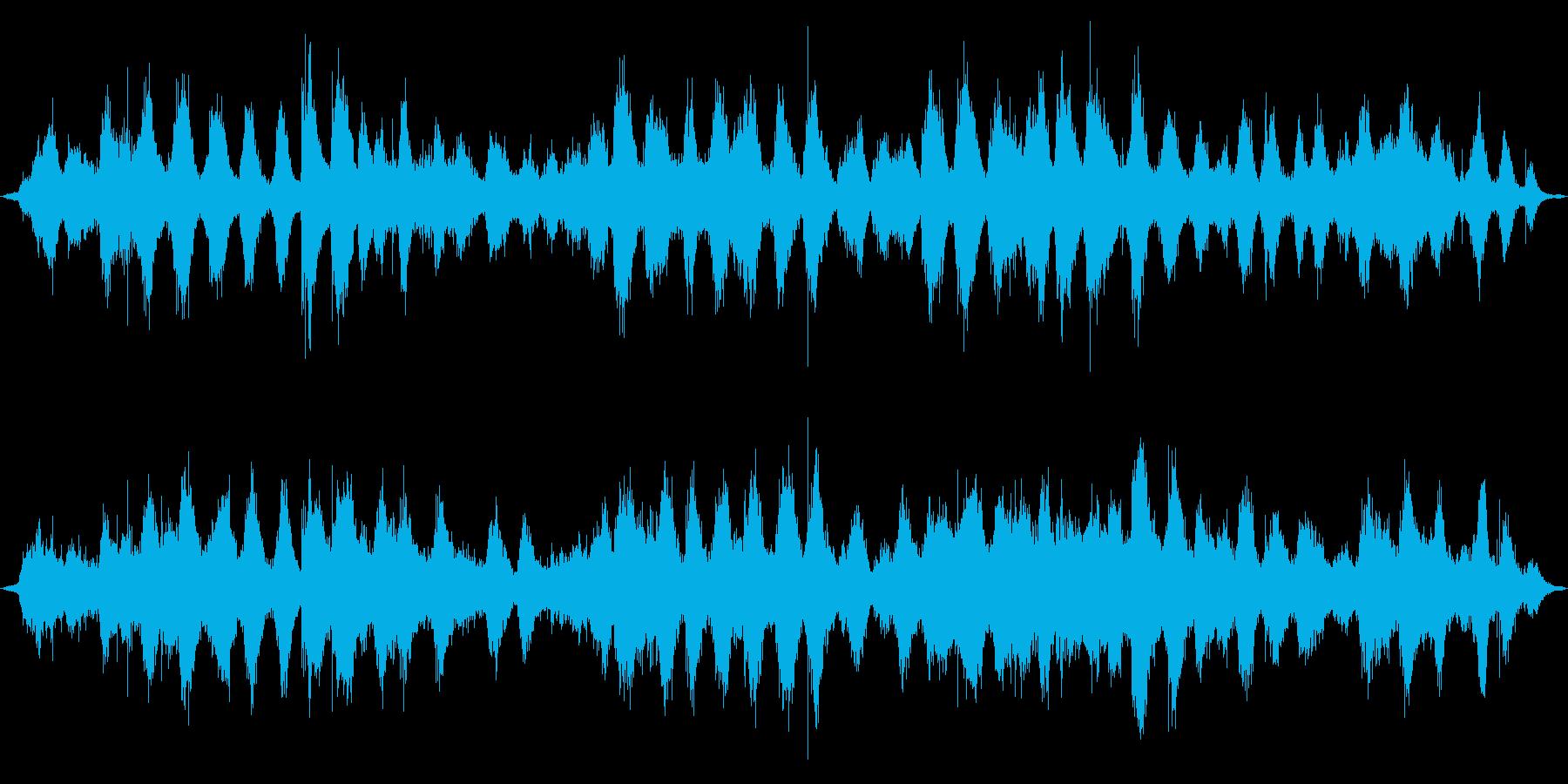 媒体で来る湖の波の再生済みの波形
