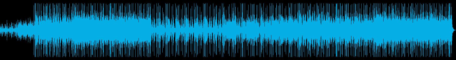 かわいいおしゃれBGMギターベース生演奏の再生済みの波形