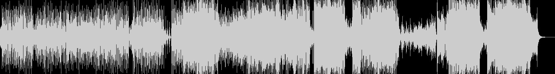 ウクレレ・南国のアコギテクノポップの未再生の波形