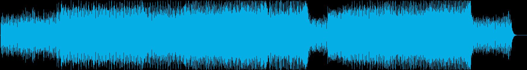 80年代風シンセウェーブ ヴォコーダー有の再生済みの波形