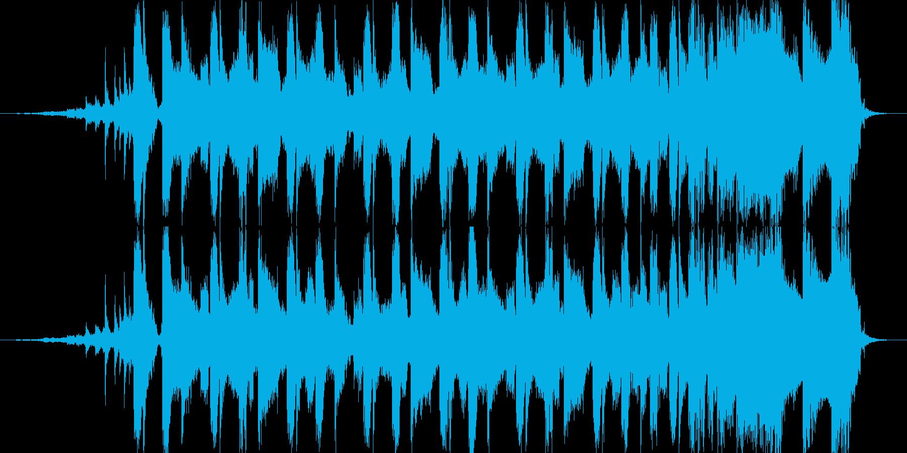 疾走感のあるdnb15秒CM楽曲。の再生済みの波形